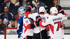 NHL: Senators 6, Maple Leafs 3
