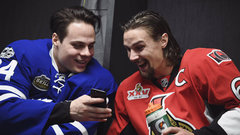 What were Karlsson and Matthews laughing about?