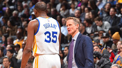 How will Kerr handle playing Durant, Westbrook tonight?