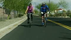 Taking a bike ride with Joe Maddon