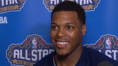 Lowry on three-point contest: