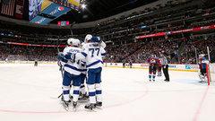NHL: Lightning 3, Avalanche 2 (OT)