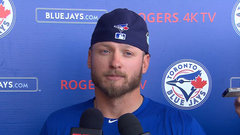 Donaldson being cautious with calf, hopes to return in a couple weeks