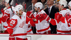 NHL: Red Wings 5, Penguins 2