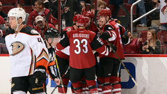 NHL: Ducks 2, Coyotes 3