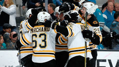 NHL: Bruins 2, Sharks 1 (OT)