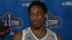 DeRozan on ASG fun, gearing up for final stretch