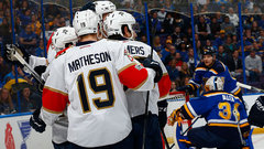 NHL: Panthers 2, Blues 1