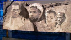 Making an NFL Mount Rushmore from current players