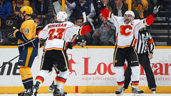 NHL: Flames 6, Predators 5 (OT)