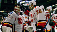 Flames rally for OT win despite blowing 4-1 lead