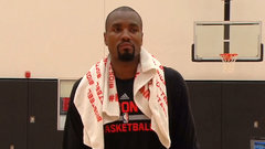 Ibaka participates in first practice with Raptors