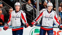 Where do Capitals one-two centre's rank in NHL?