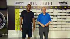 40-yard dash is key entry point to the NFL