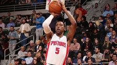 NBA: Hornets 108, Pistons 114 (OT)