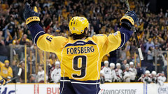 Forsberg leading Predators' surge up the standings