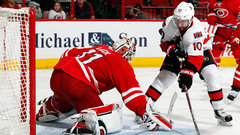 NHL: Senators 0, Hurricanes 3