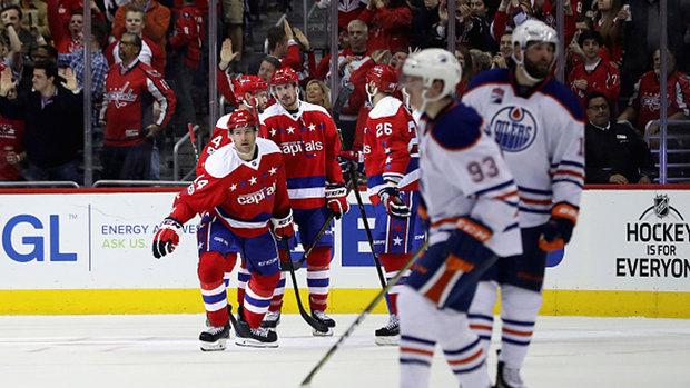 NHL: Oilers 1, Capitals 2