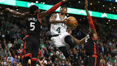 Celtics happy with roster but see value in Raptors' moves