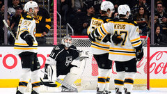 NHL: Bruins 4, Kings 1