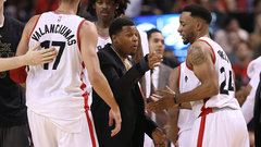 Lowry out indefinitely with injured wrist