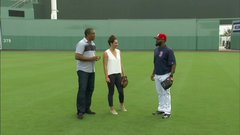 Bradley Jr. explains the art of the outfield throw