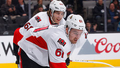 Senators Hoffman, Stone a game-time decision tonight vs. Panthers