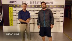The broad jump drill is all about the hips