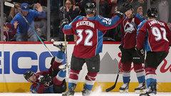 NHL: Sabres 3, Avalanche 5
