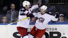 NHL: Blue Jackets 5, Rangers 2
