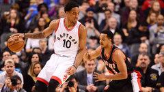NBA: Trail Blazers 106, Raptors 112