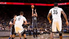 NBA: Nets 95, Warriors 112