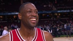 Wade jokingly calls out teammate after missing triple-double