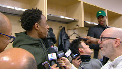 Must See: DeRozan to Lowry - ''FaceTime me when you all gowned-up''