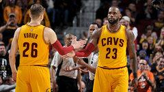 NBA: Bucks 95, Cavaliers 102