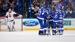 NHL: Senators 1, Lightning 5