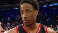 DeRozan: ''I knew I was going to get a shot off''