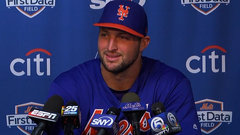 Tebow says he's trying to get better every day