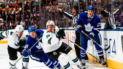 Leafs need to get Sharks off their game early