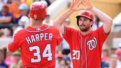 MLB: Astros 3, Nationals 4