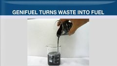 Genifuel develops fuel from (rather smelly) waste