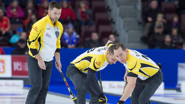 Tim Hortons Brier: Bronze Medal - NO 5, MB 7