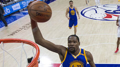 Durant's injury could impact Warriors in playoffs