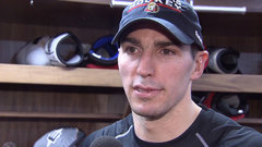 Burrows describes stepping on the ice as a Senator