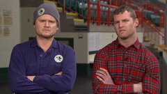 Letterkenny's Wayne and Daryl share thoughts on trades