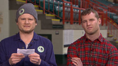 Joke time with Letterkenny's Wayne and Daryl