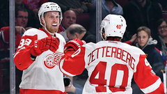 NHL: Red Wings 2, Canadiens 1 (OT)