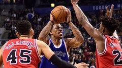 NBA: Bulls 120, Raptors 122 (OT)