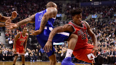 Tucker containing Butler late key in Raptors' thrilling win