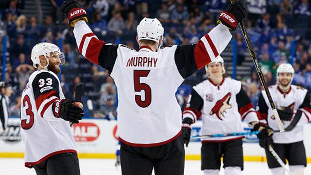 NHL: Coyotes 5, Lightning 3
